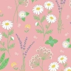 My Cup of Tea by Windham Fabrics - Garden Herbs Rose - Yardage - Daz Fabrics