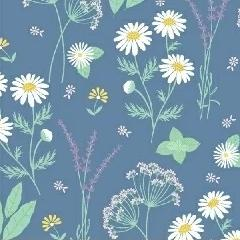 My Cup of Tea by Windham Fabrics - Garden Herbs Blueberry - Y206 - Daz Fabrics