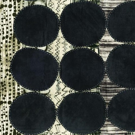 Curiosity by Marcia Derse - Circle Black - Y193 - Daz Fabrics