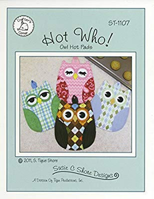 Hot Who Owl Oven Pads- Pattern