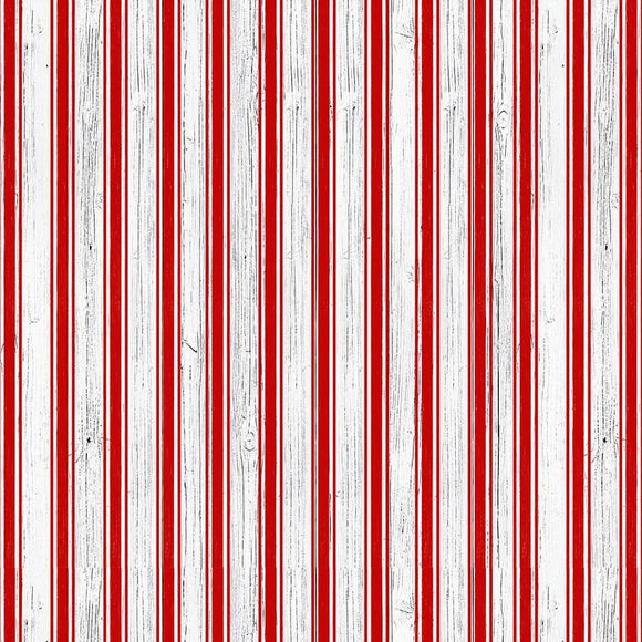 Christmas Memories by Lucie Crovatto - Candy Cane Stripe Red/White - Y816 - Daz Fabrics