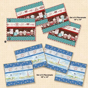 Placemat Pattern by Wilmington Prints - Click on RED LINK to Download Pattern in Description Below - Daz Fabrics