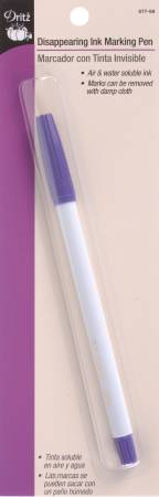 Disappearing Ink Marking Pen - Purple - Daz Fabrics