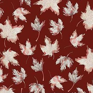 After The Rain by Boccaccini Meadows - Leaves Mulberry - Y877 - Daz Fabrics