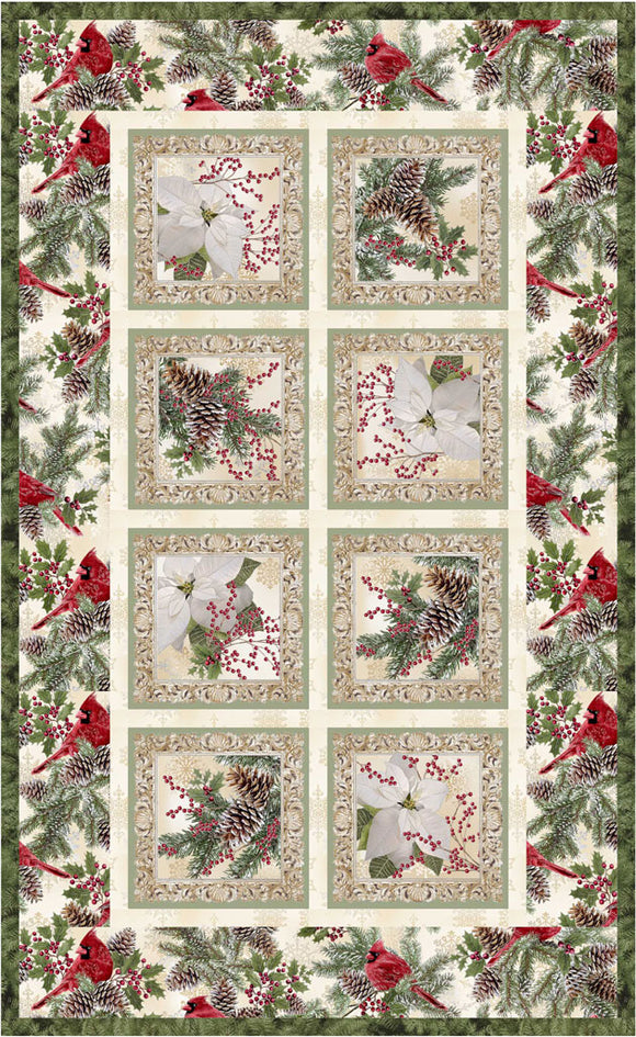 A Very Merry Christmas, Seasonal Squares Pattern by Lacey J. Hill - Click Link (IN RED) Below to Receive Free Pattern - Daz Fabrics