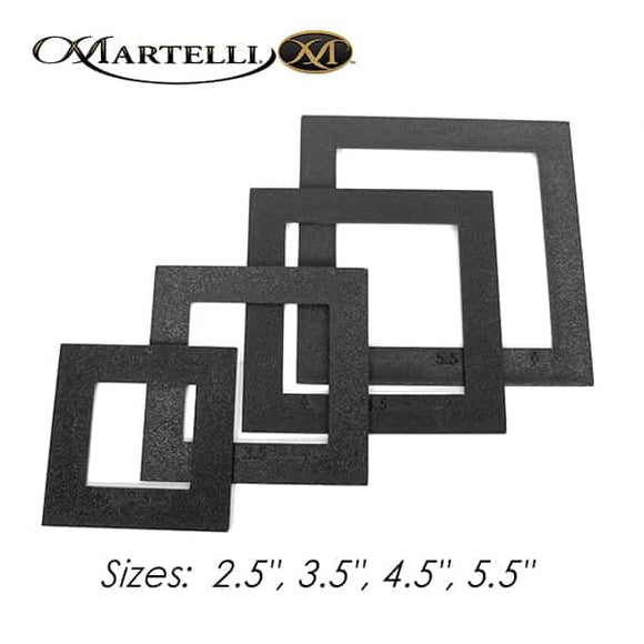Martelli Notions - Small Square Fussy-Cut Window Set - 2.5