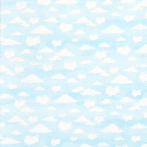 Camp Cricket Collection by Bunnies by the Bay - Cloud Animals - Yardage - Daz Fabrics