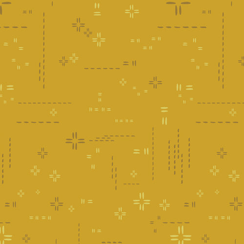 Decostitch Elements Collection by Art Gallery - Sunglow - Yardage - Daz Fabrics