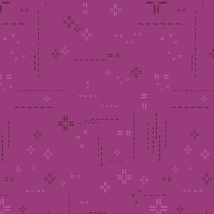 Decostitch Elements Collection by Art Gallery - Orchidberry - Yardage - Daz Fabrics