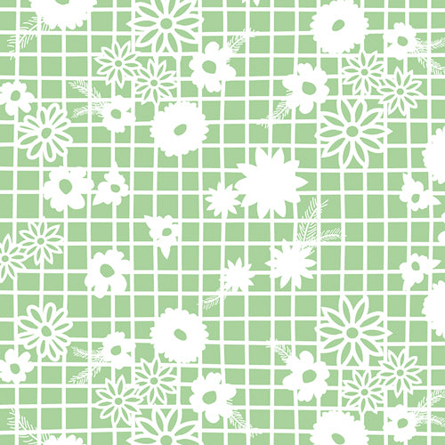 Fiesta Fun Collection by Dana Willard - Papel Picado Menta - Yardage - Daz Fabrics