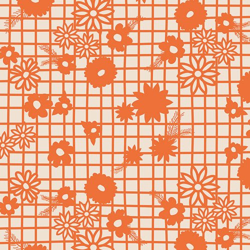 Fiesta Fun Collection by Dana Willard - Papel Picado Naranja - Yardage - Daz Fabrics