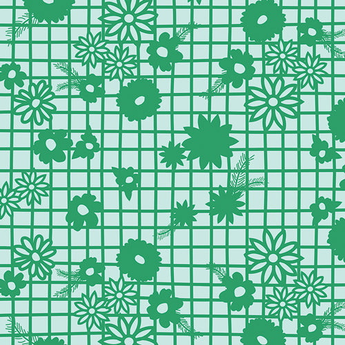 Fiesta Fun Collection by Dana Willard - Papel Picado Verde - Yardage - Daz Fabrics