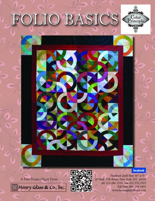 Folio Basics - Click on RED LINK in Product Description, below Paypal button,  to receive pattern - Daz Fabrics