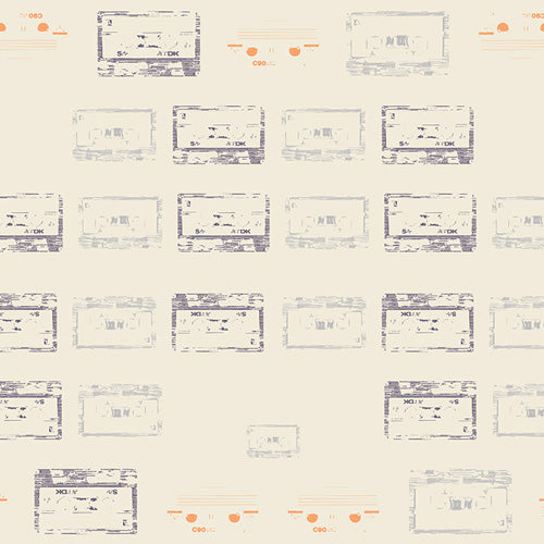 Heart Melodies Collection by Art Gallery Studios - Cassettes and Lace - Yardage - Daz Fabrics