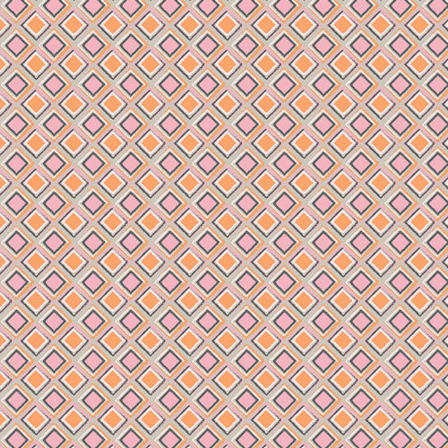 Heart Melodies Collection by Art Gallery Studios  - Bass Waves Bright - Yardage - Daz Fabrics