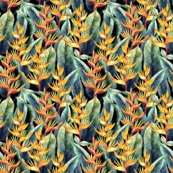 Mini Tropicals Collection by In The Beginning - Bird of Paradise - Yardage - Daz Fabrics