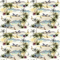 Mini Tropicals Collection by In The Beginning - Beaches Sand - Yardage - Daz Fabrics