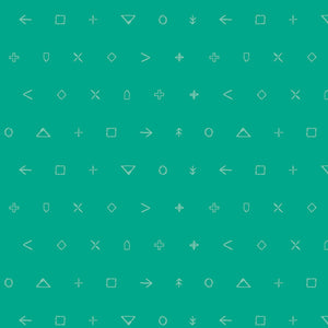 Icon Elements Collection by Art Gallery - Jade Arrow - Yardage - Daz Fabrics
