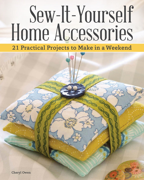 Sew-It-Yourself Home Accessories Book T12 - Daz Fabrics