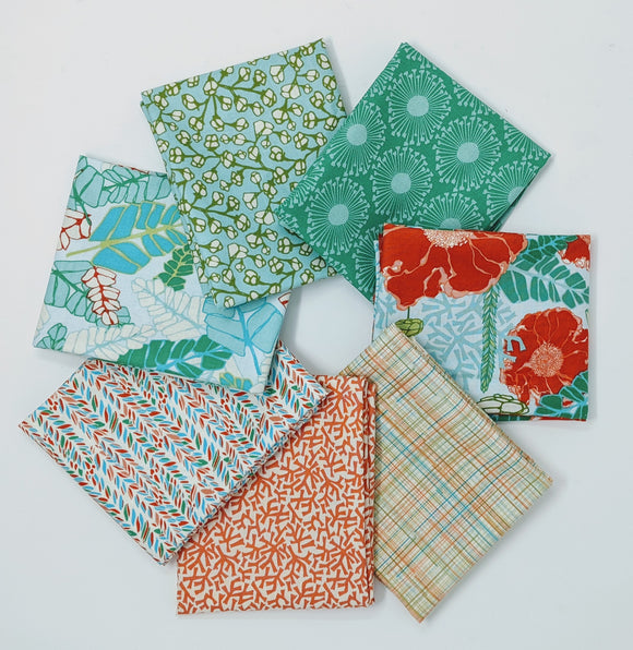 Marabella by Amy Reber - Monarch - 7 PC Fat Quarter P248 - Daz Fabrics