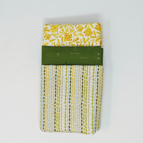 3 Yard Bundle - Twisted Olive P76 - Daz Fabrics