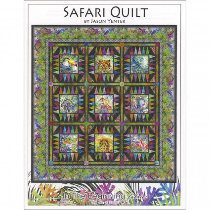 Safari Quilt Pattern by In the Beginning - Pattern T79 - Daz Fabrics