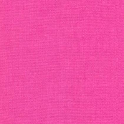 Kona Cotton by Robert Kaufman Fabrics - Bright Pink - Yardage - Daz Fabrics