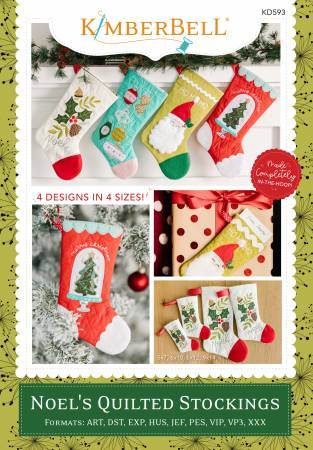 Noel's Quilted Stockings - T44 - Daz Fabrics