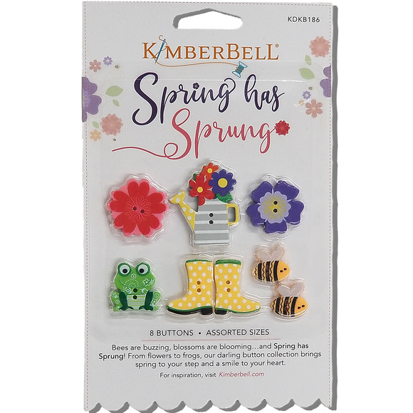 Spring Has Sprung Buttons by Kimberbell - Daz Fabrics