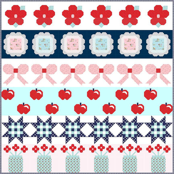 Sweet & Simple Quilt with Simple Goodness Fabric - Kit