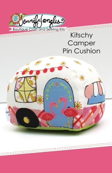 Kitschy Camper Pincushion - Kit - Daz Fabrics