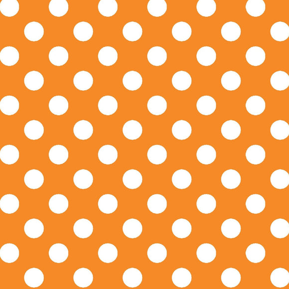 KimberBell Basics - Dots Orange - Y839 HWN - Daz Fabrics