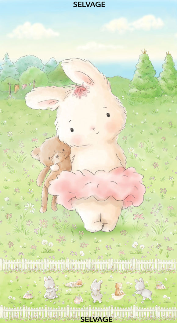 Friendship Blossoms by Bunnies by the Bay - Bunny and Her Bear 24