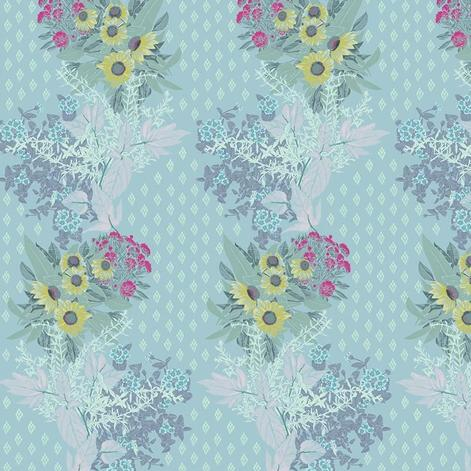 One Mile Radiant by Anna Maria Horner for Anna Maria's Conservatory - Front Walk Sky - Y2040 - Daz Fabrics