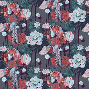One Mile Radiant by Anna Maria Horner for Anna Maria's Conservatory - Lotus Midnight - Y2042 - Daz Fabrics