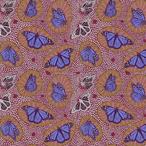 One Mile Radiant by Anna Maria Horner for Anna Maria's Conservatory - Monarch Fruit  - Y2045 - Daz Fabrics