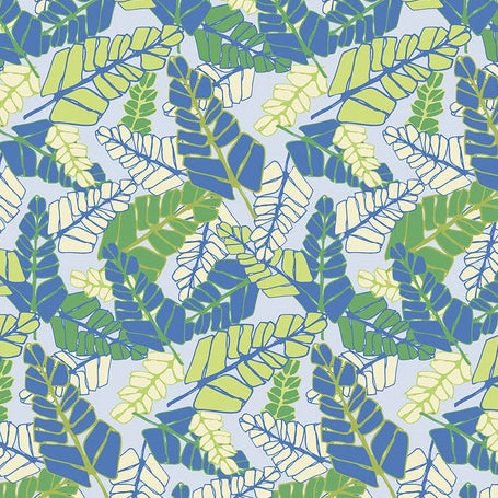 Marabella by Amy Reber - Fronds - Pacific - Y2287 - Daz Fabrics