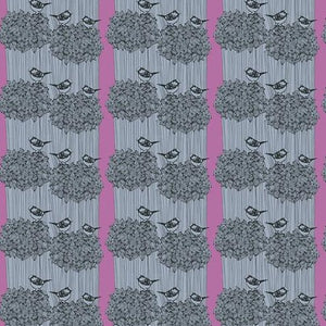 After the Rain by Bookhou for Anna Maria's Conservatory - Birdseed Powder - Yardage - Daz Fabrics
