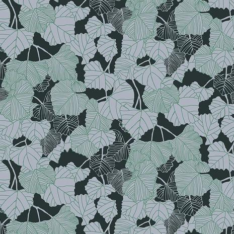 After the Rain by Bookhou for Anna Maria's Conservatory - Shadow Emerald - Yardage - Daz Fabrics