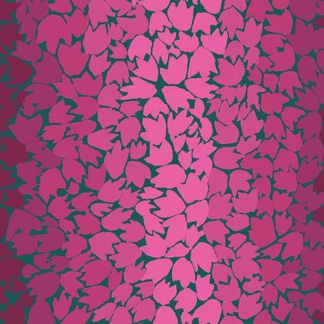Kaffe Fasset Collective 2020 - Ombre Leaves Pink - Y565 - Daz Fabrics