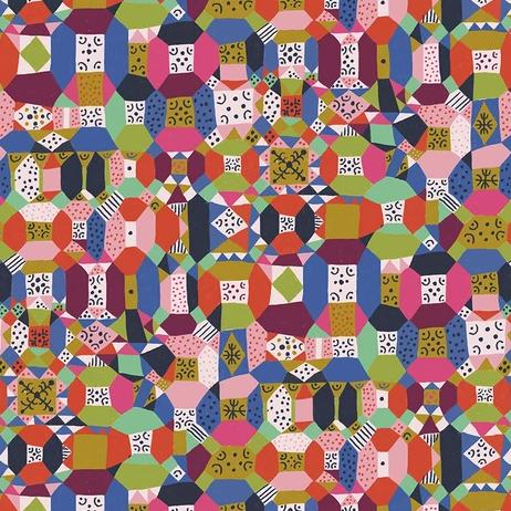 Endless Summer by Monica Forsberg for Anna Maria's Conservatory - Groove Candy - Y2312 - Daz Fabrics