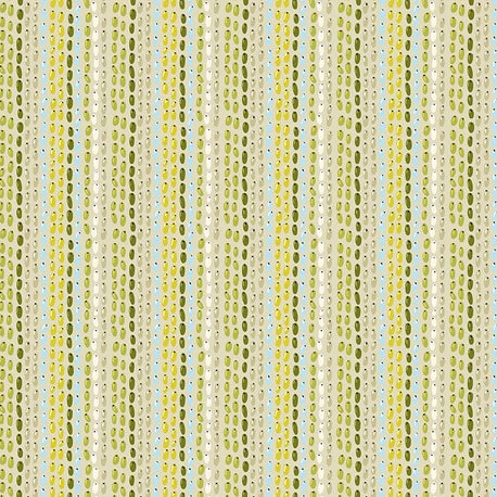 Land Art by Odile Bailloeul - Seeds Creme - Yardage - Daz Fabrics