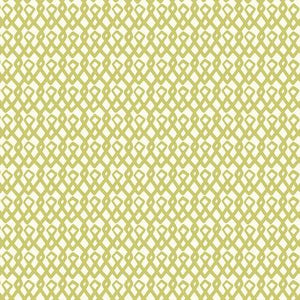 Eloisa by Scion for FreeSpirit Fabrics - Ristikko Lime  - Yardage Y2136 - Daz Fabrics