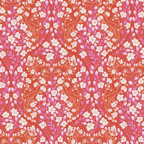 Monkey Wrench by Tula Pink - Parrot Prattle - Mango - Yardage - Daz Fabrics