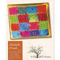 Stitch Pad Pincushion by In the Patch Designs - Kit - Daz Fabrics