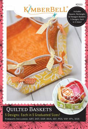 Quilted Baskets - CD  T67 - Daz Fabrics
