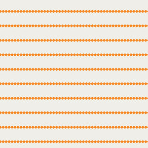 Summer Side Collection by Dana Willard - Seaside Stripes Tangerine - Yardage - Daz Fabrics