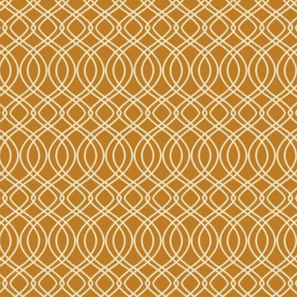 Splendor Collection by Art Gallery - Knotted Trellis Gold - Yardage - Daz Fabrics