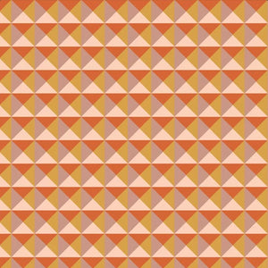 Splendor Collection by Art Gallery - Nouveau Geo Coral - Yardage - Daz Fabrics
