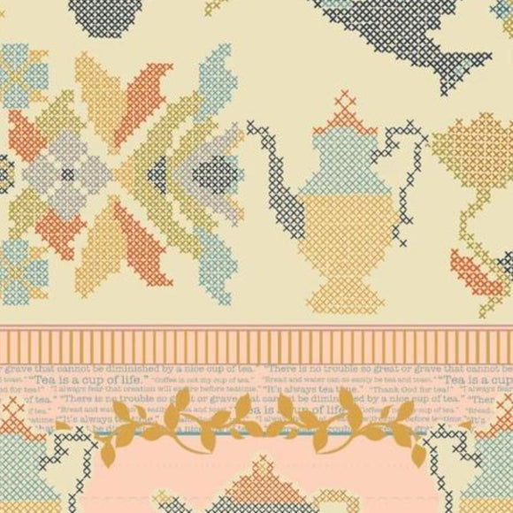 Splendor Collection by Art Gallery - Grandeur Mist - Yardage - Daz Fabrics